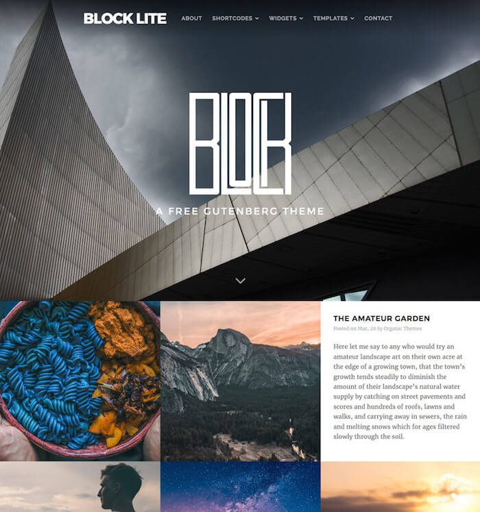 block-lite-wordpress-theme