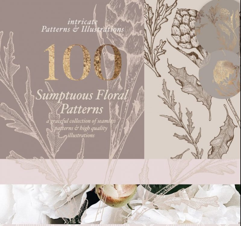 Floral Patterns and Illustrations