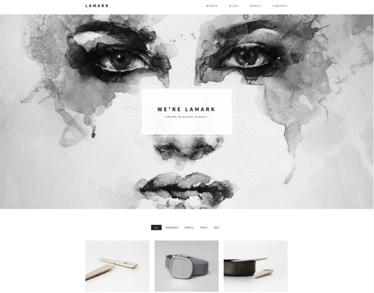 Lamark WordPress Theme