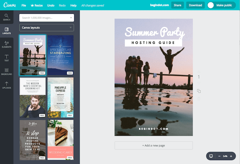 Canva for Pinterest