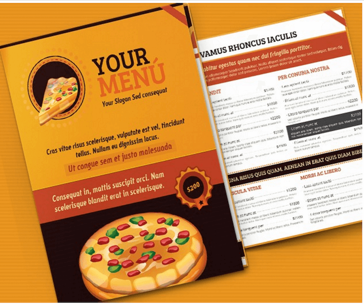 Pizza-Menu-Template
