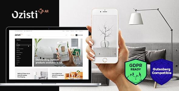 ozisti-augmented-reality-ar-woocommerce-wordpress-theme
