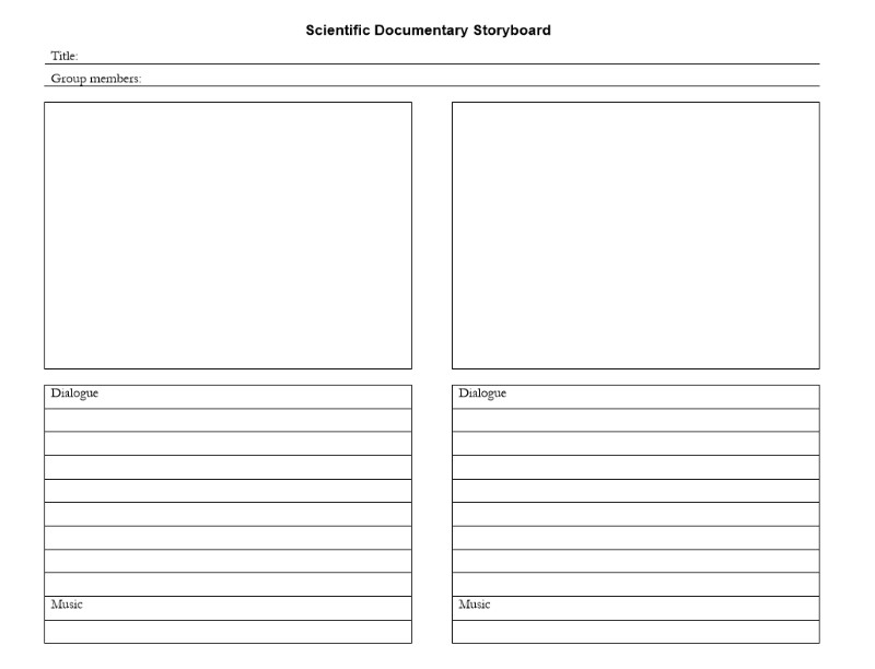 28 Storyboard Template