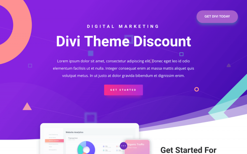 Divi Theme Discount