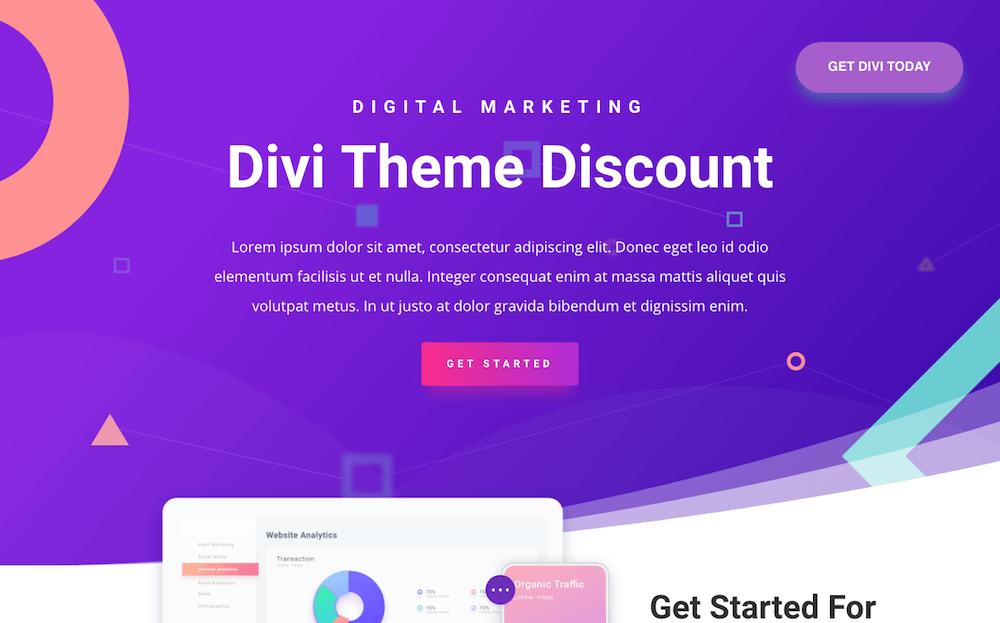 Divi Theme Discount