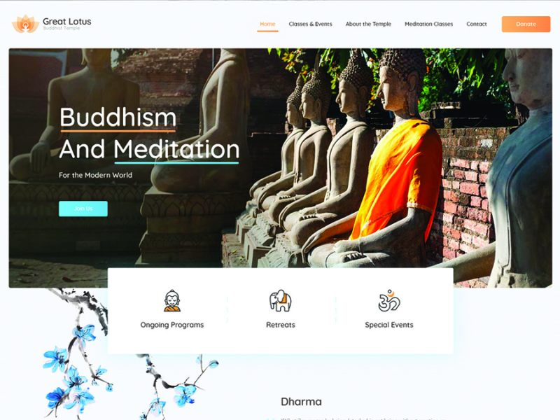 great-lotus-buddhist-temple-wordpress-theme