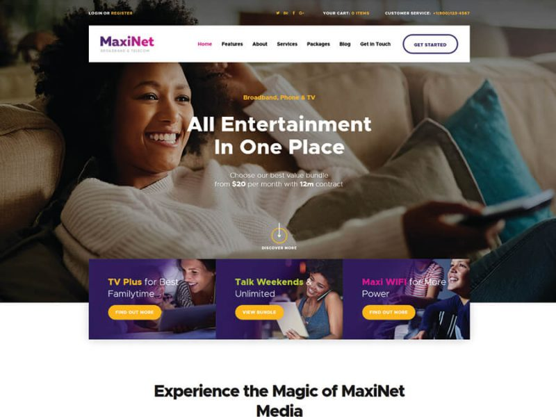 maxinet-broadband-telecom-wordpress-theme