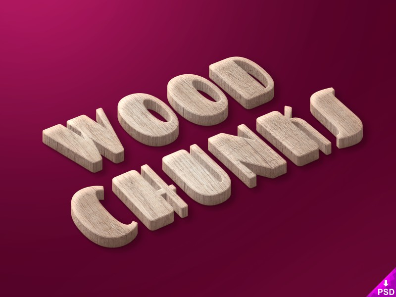 Wood Cunks