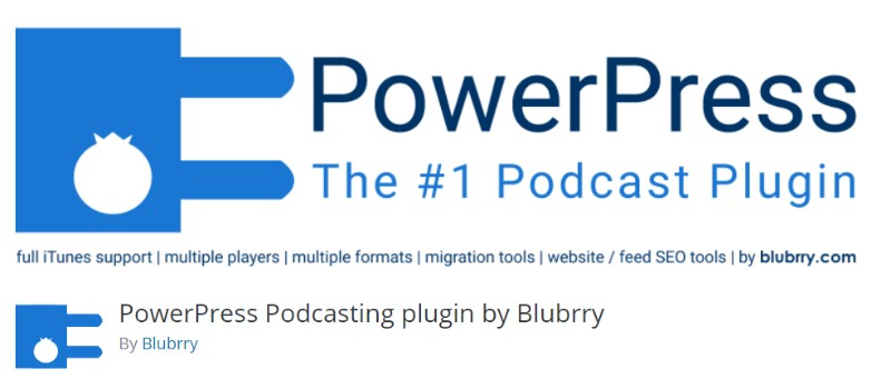 PowerPress Podcasting Plugin