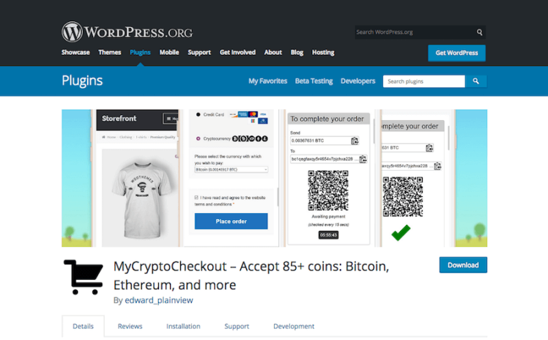 MyCrypto Checkout