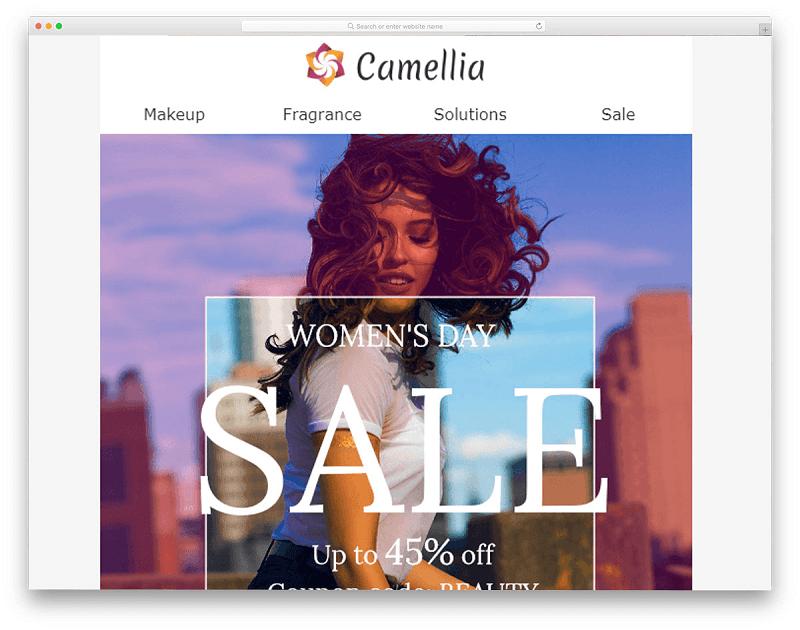 Camellia Template