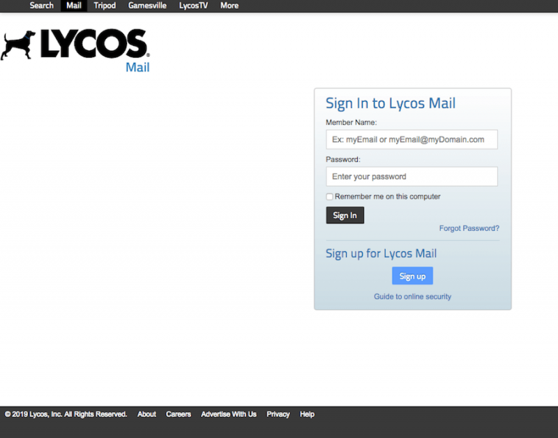 Lycos Mail