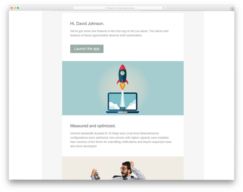 Product Update Email Template