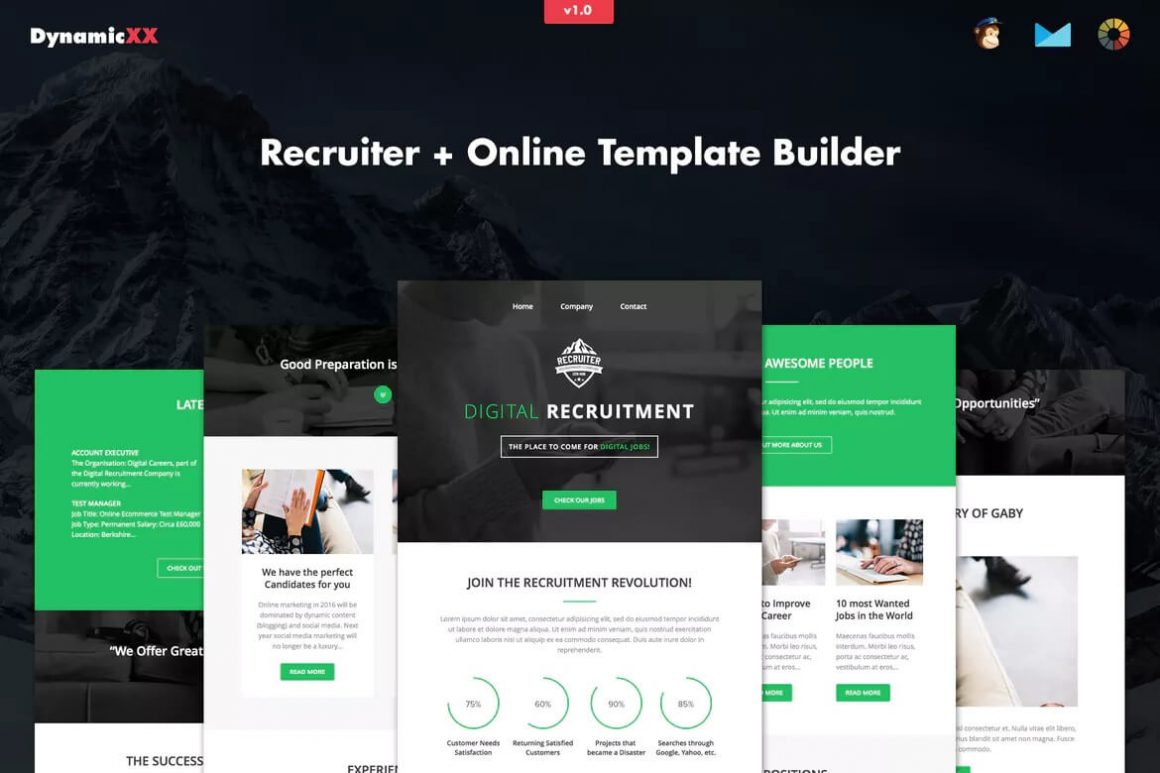 Recruiter Email Template