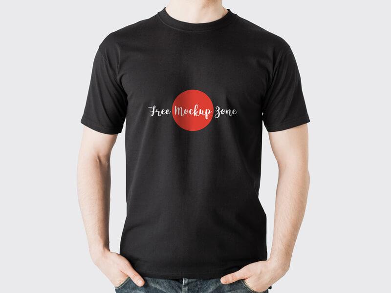 free-black-t-shirt-mockup-psd