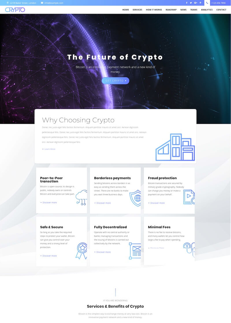 Crypto Divi Child Theme