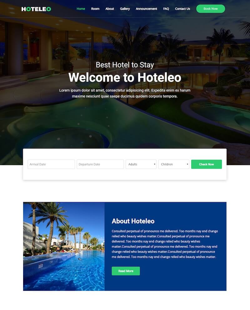 Hoteleon Complete Hotel Booking System