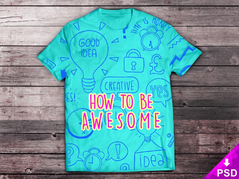 T-Shirt-Mock-up