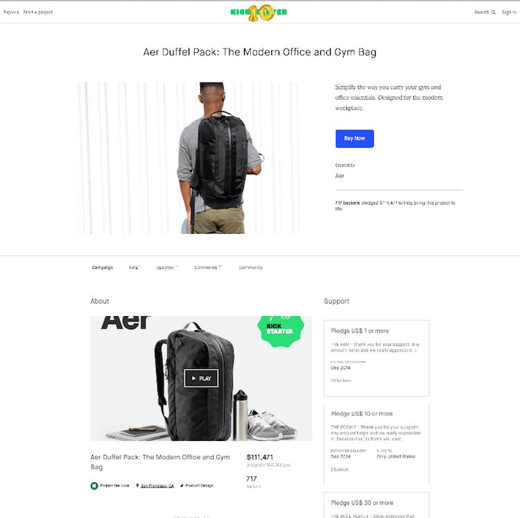 Aer Crowdfunding