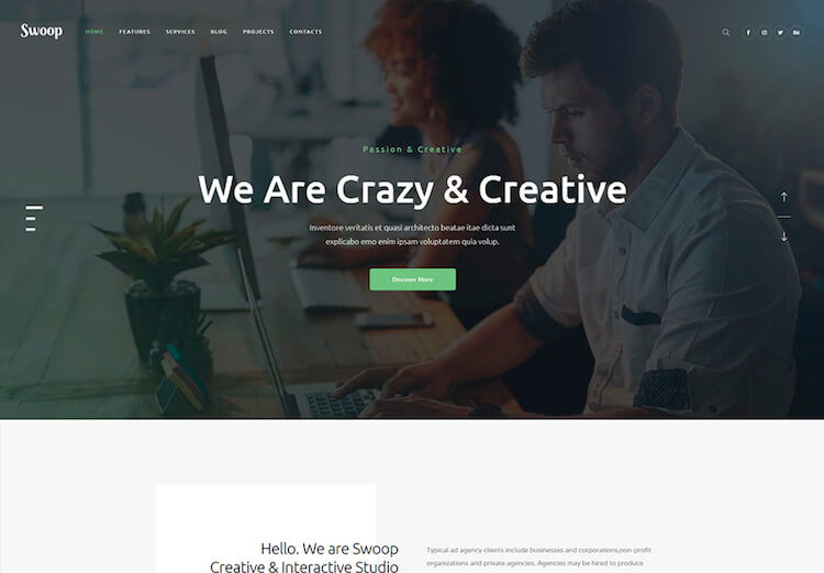 swoop-web-studio-theme