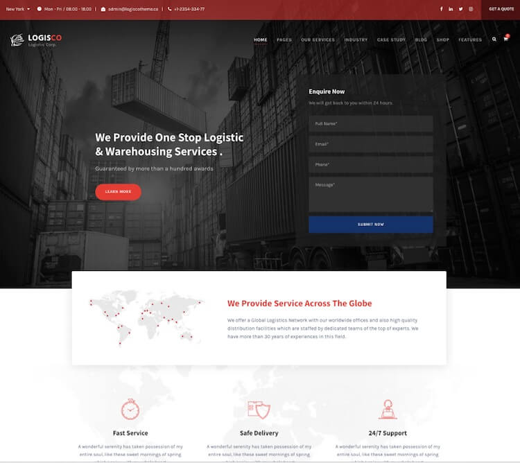 Logisco Theme
