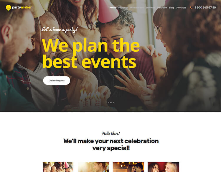 PartyMaker Theme
