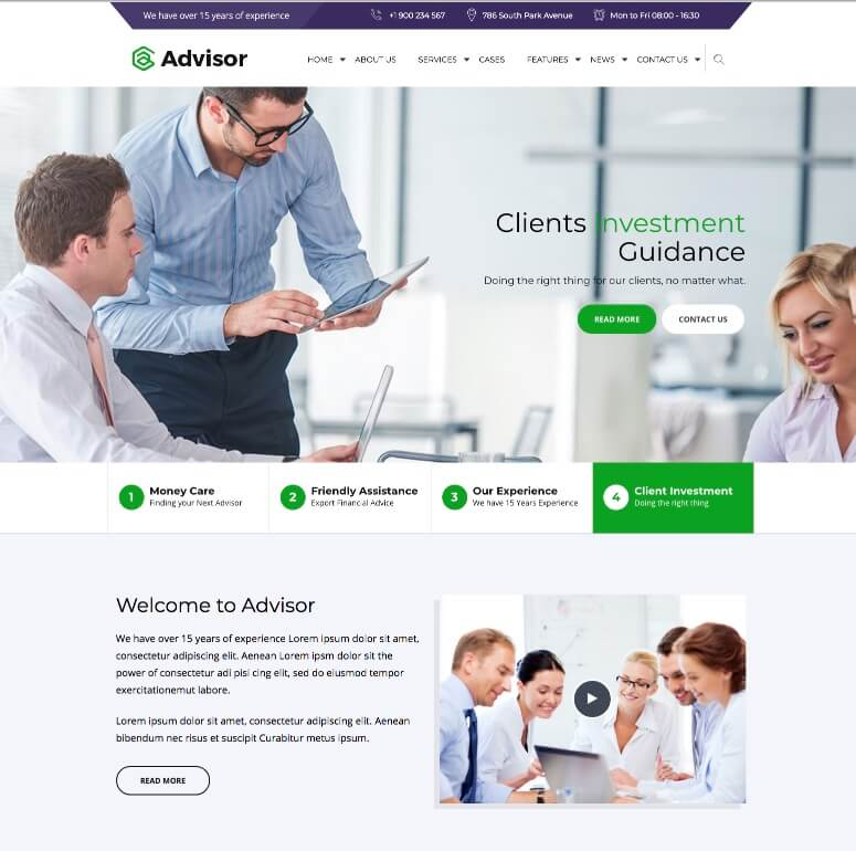 Advisor-Theme