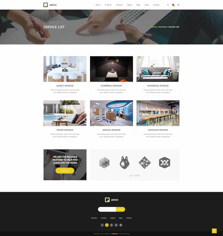 Arch Decor HTML Template