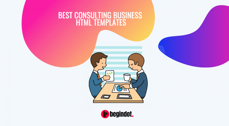 Best Consulting Business HTMl Templates