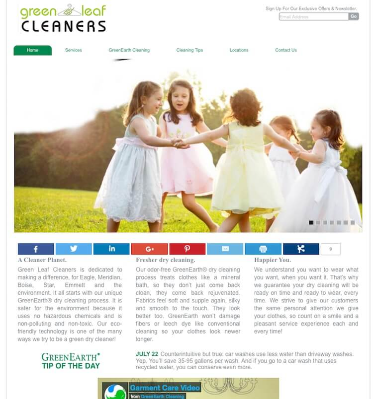 Green Leaf Cleaners