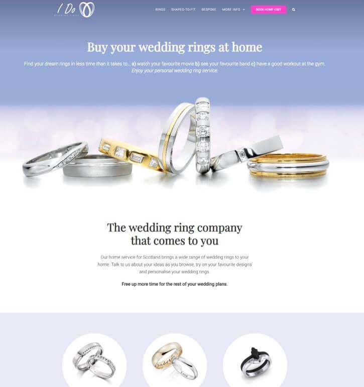 I Do Wedding Rings
