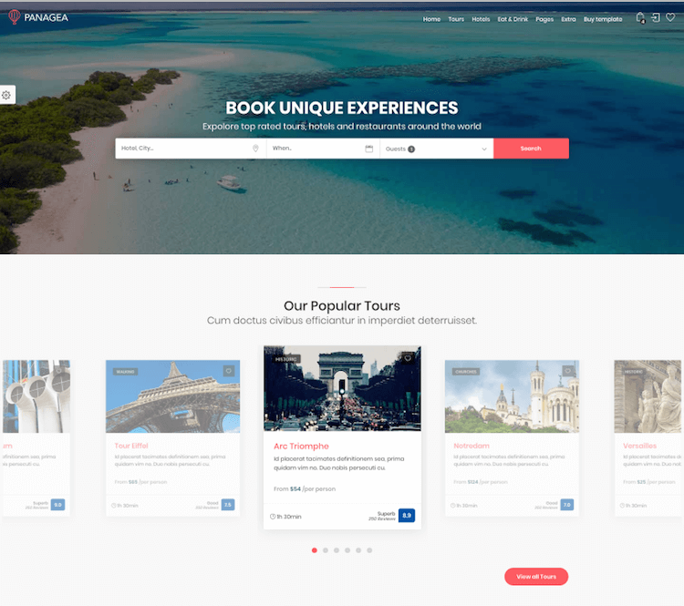 Panagea HTML Template