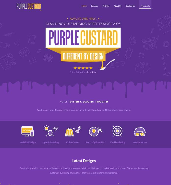 Purple Custard