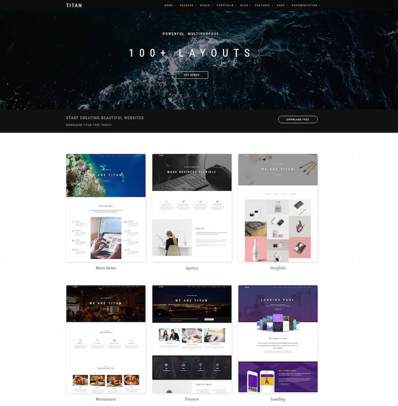 Titan HTML Template