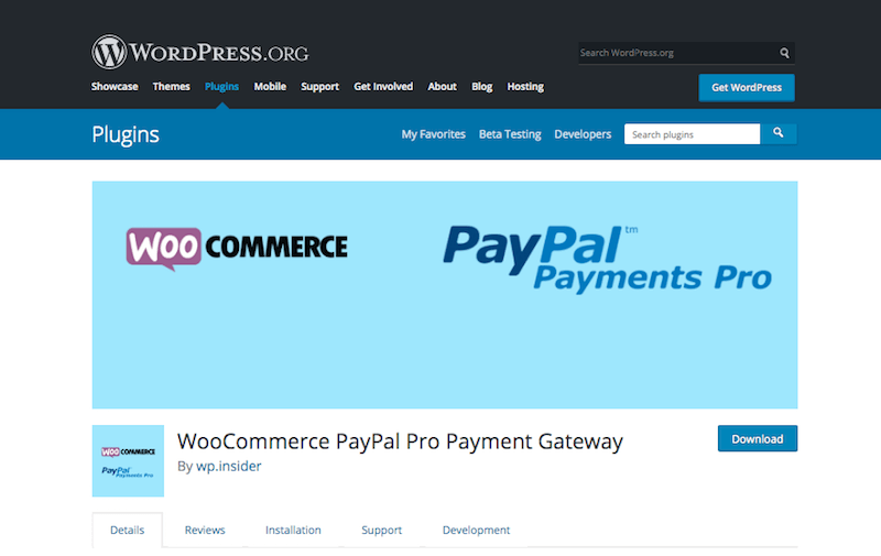 PayPal Pro for WooCommerce Sites