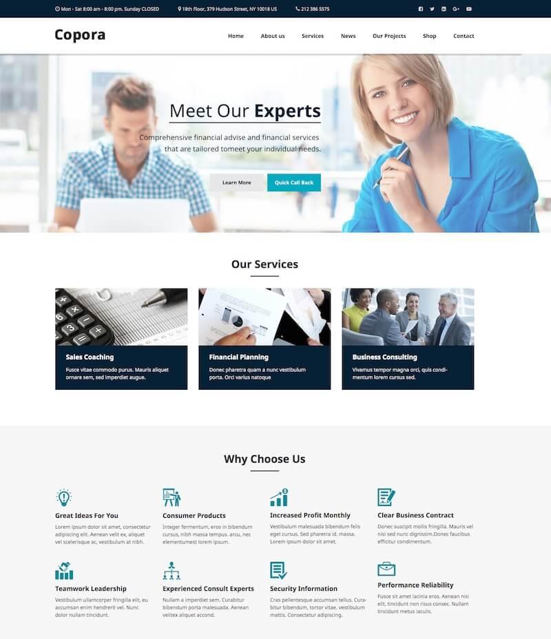 Corporate HTML Template