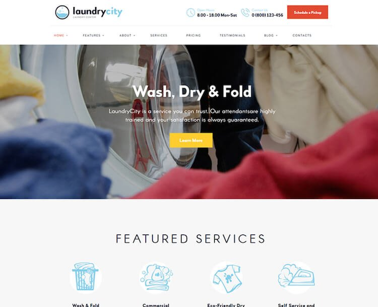 Laundry City Theme
