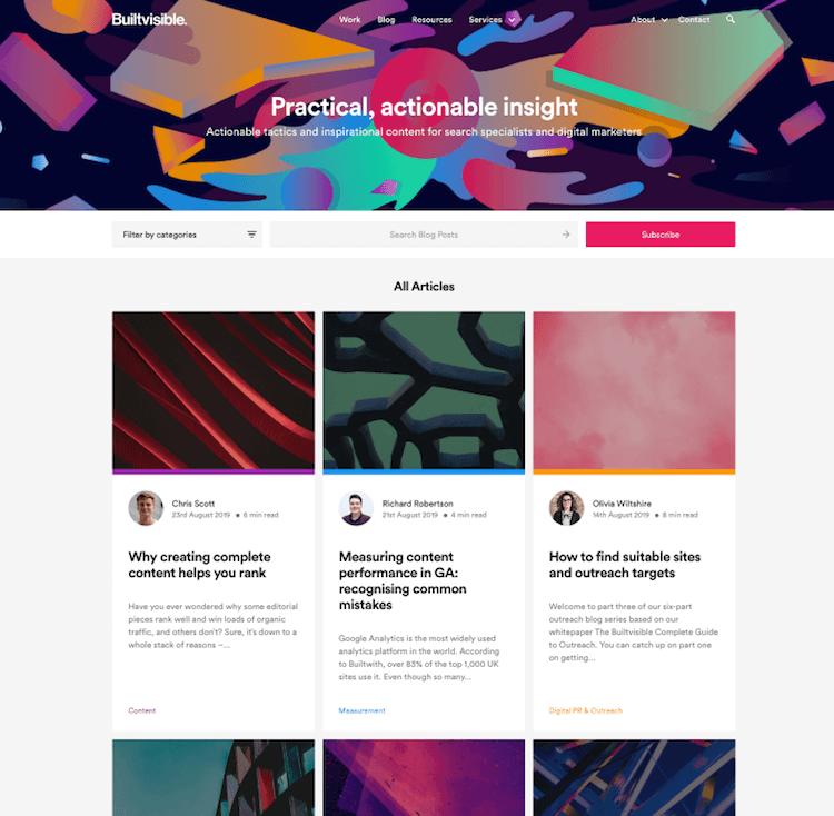 Builtvisible Blog