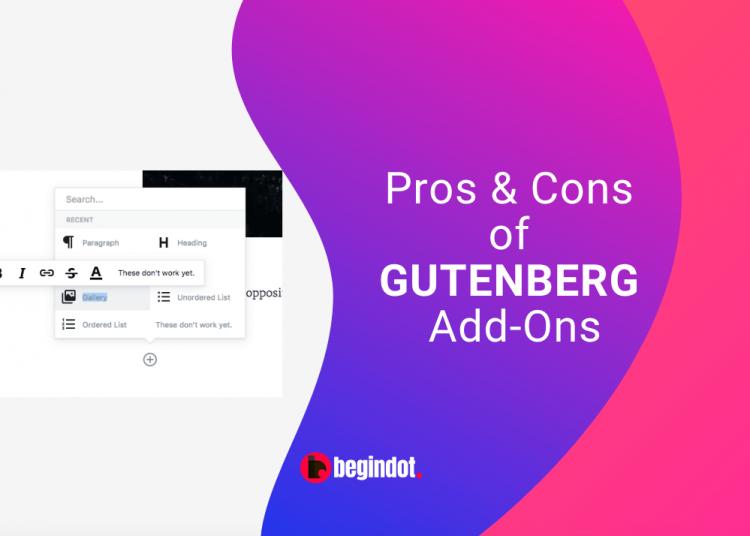 Gutenberg Add-ons