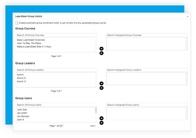 LearnDash User Groups