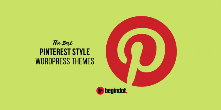 Pinterest Design WordPress Themes