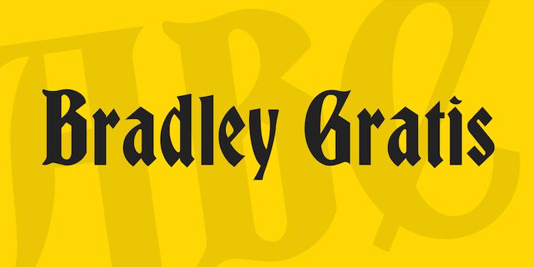 Bradley Gratis Font