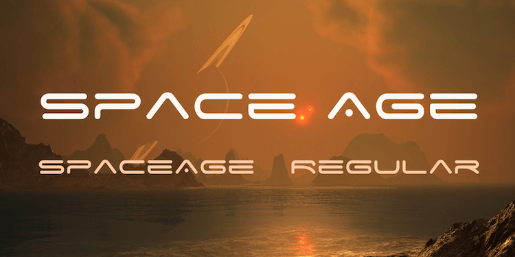 Space Age font