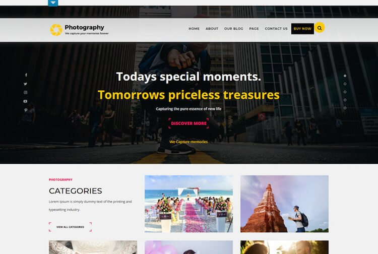 TS Photography Theme