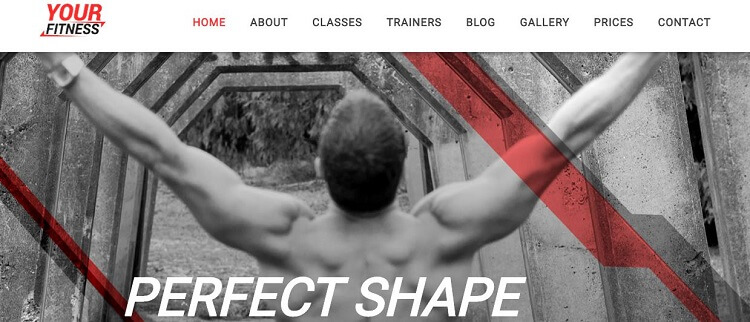 YourFitness Joomla Template