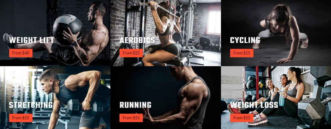 Musclen Gym Joomla Template