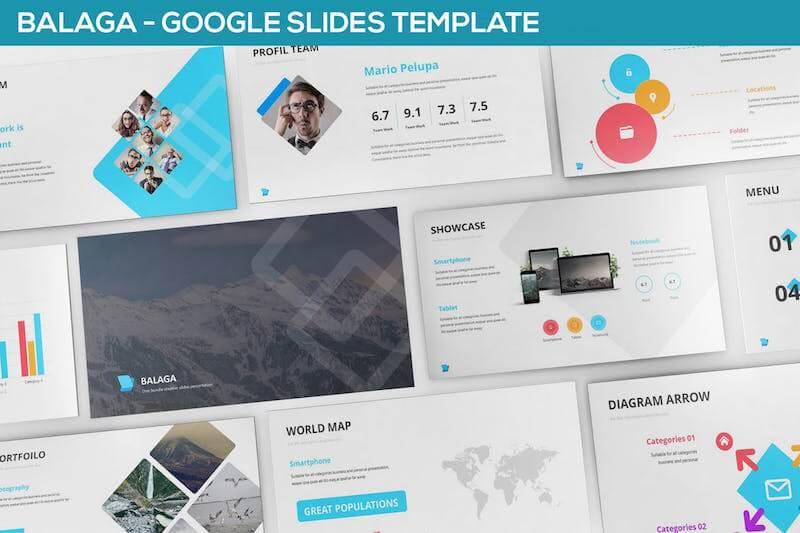Balaga Google Slide Template