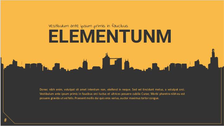 Elementum Slide
