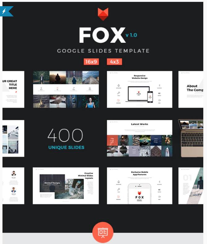Fox Google Slides Template