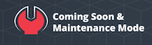 Coming Soon & Maintenance Mode Pages